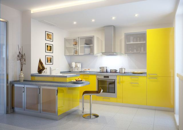Цветовая гамма кухни - популярные цвета и модные решения в 2019 г.