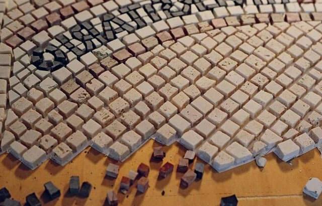 Мозаика на пол в ванной - какая бывает, на что и как укладывается плитка мозайка