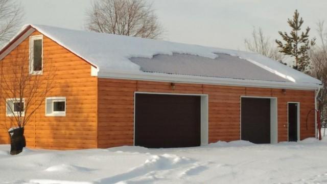 Строим гараж своими руками - пошаговые инструкции