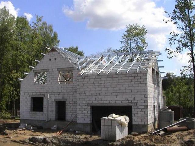 Дом из газобетона своими руками - пошаговая инструкция