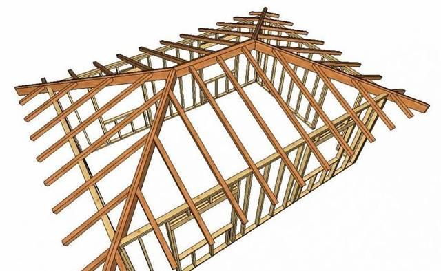Многощипцовая крыша стропильная система - устройство, порядок расчета и основные приемы монтажа