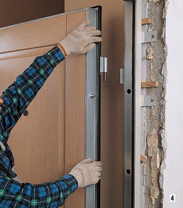 Двери входные деревянные утепленные - как сделать самостоятельно?