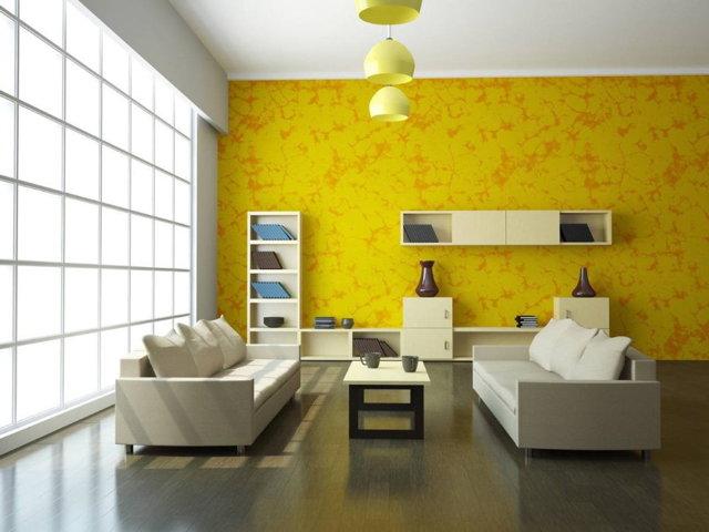 Как выбрать обои для зала - полезные рекомендации и обзор готовых решений