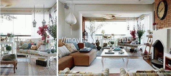 Балкон в стиле прованс - атмосфера уюта и отдыха