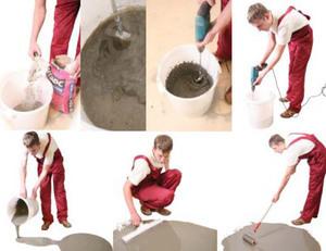 Самовыравнивающийся пол своими руками - учимся строительному мастерству