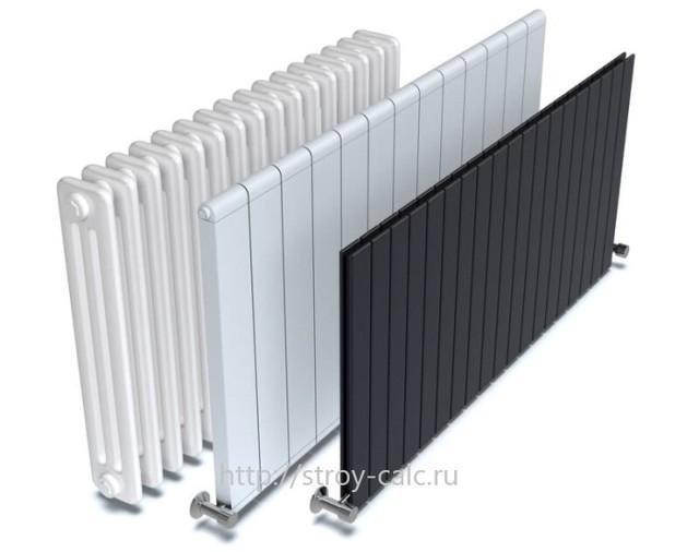 Расчёт количества секций радиатора отопления - инструкция