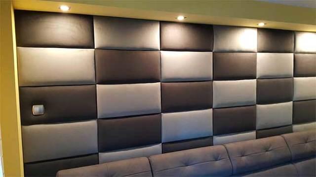 Мягкие стеновые панели - разновидности, самостоятельное изготовление
