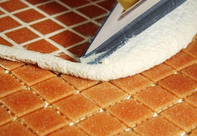 Затирка для швов плитки в ванной - выбираем качественный материал