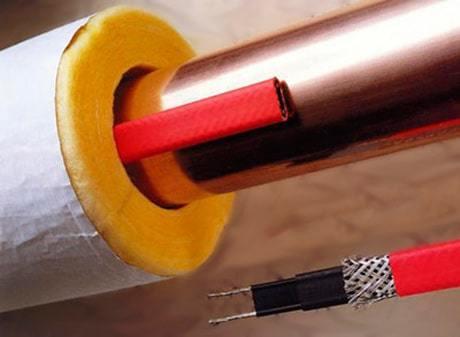 Самогреющий кабель для водопровода: как утеплить водопровод с помощью греющего кабеля - инструкция