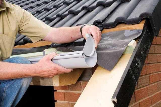 Водослив с крыши своими руками - инструкция по монтажу