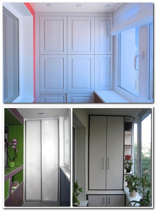 Как сделать шкаф на балконе своими руками - инструкция с иллюстрациями