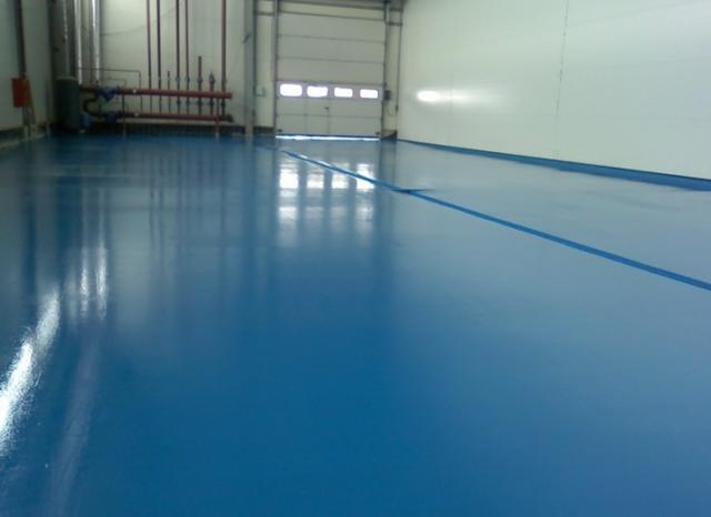 Краска для бетонных полов - обзор лучших износостойких красок