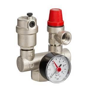 Предохранительный клапан теплового сброса в системе отопления - предназначение, устройство, место в обвязке котла