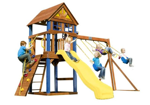 Детская площадка своими руками - инструкция пошагово
