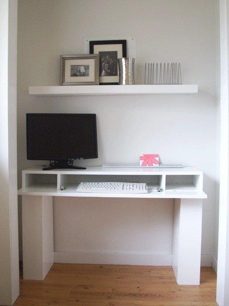Стол компьютерный с полками и ящиками - пошаговая инструкция