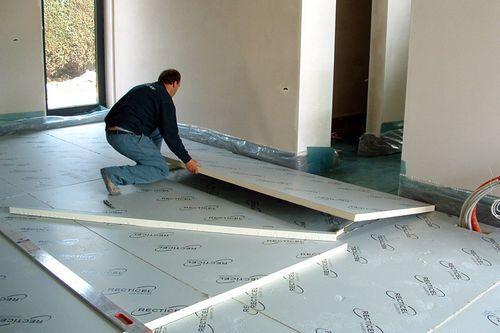 Утепление пола первого этажа своими руками - пошаговая инструкция