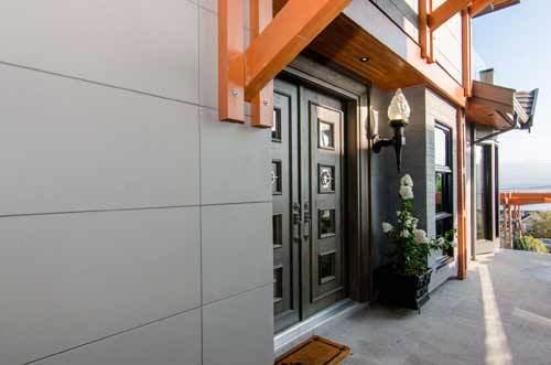Фиброцементные панели для наружной отделки дома - современные строительные материалы