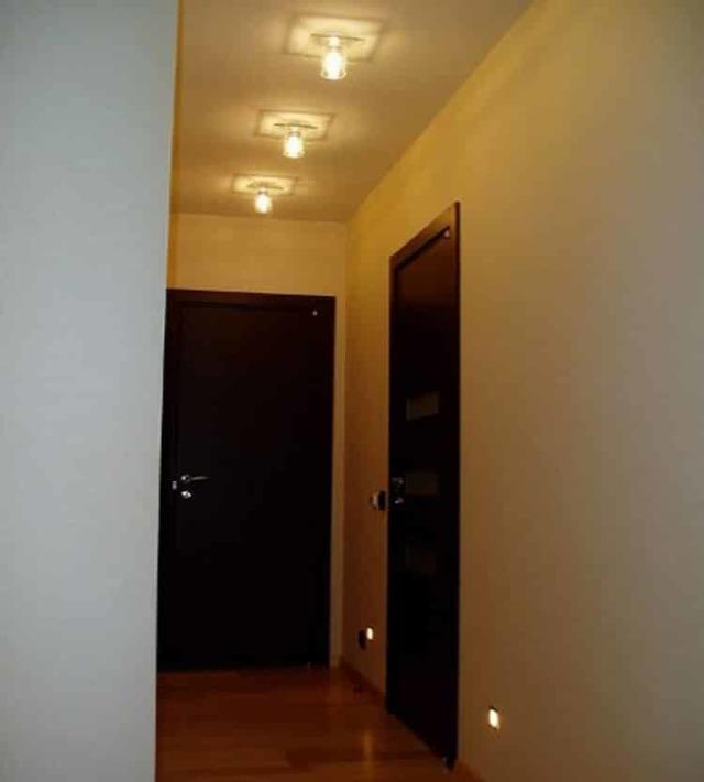 Расположение светильников на натяжном потолке - что важно знать о расположении точечных светильников